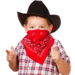 SaveFace image-kid as cowboy