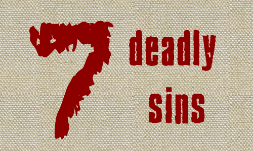 7 Deadly Sins of Personal Branding